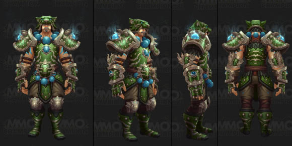 Mönch Tier 20 Set