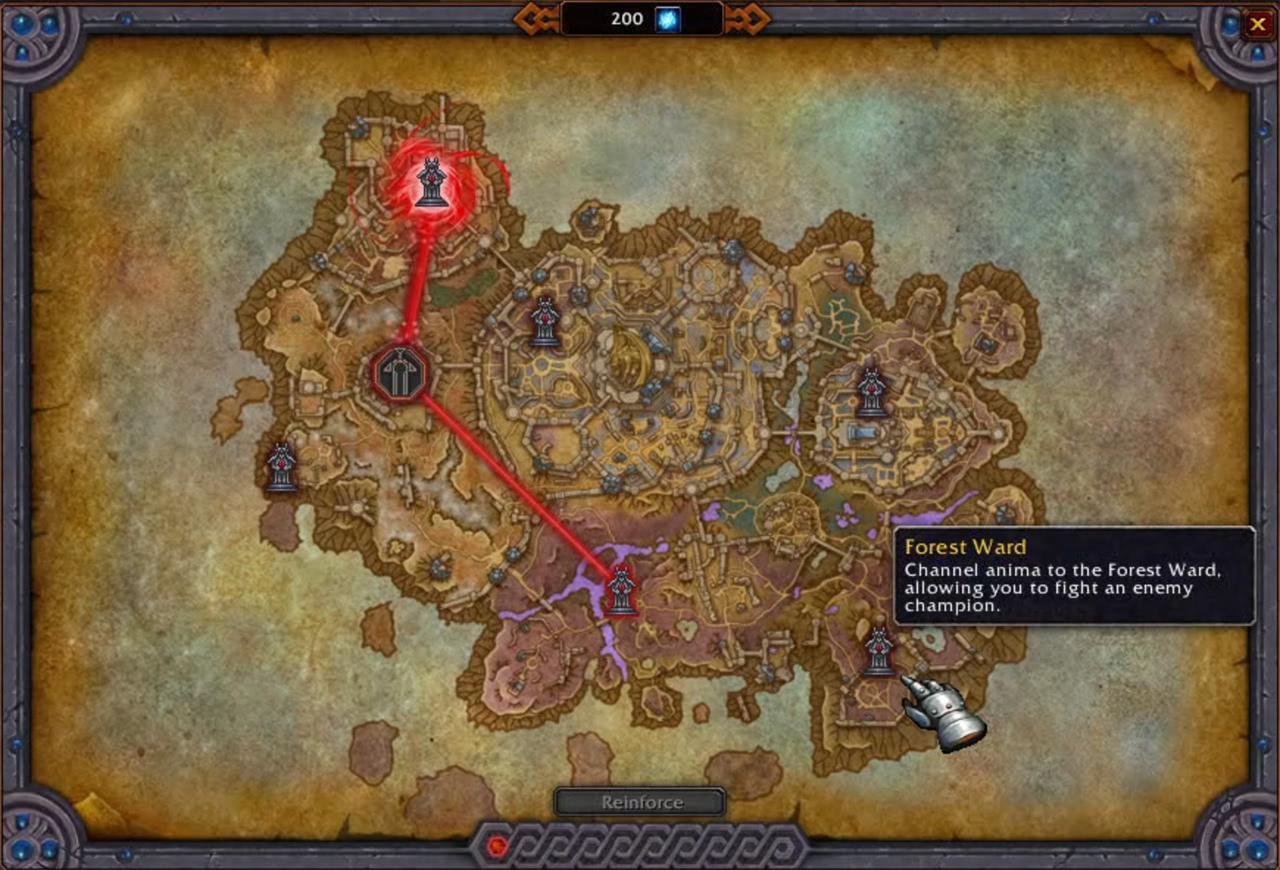 Animakanalisierungsgerät: Boni aller Shadowlands-Gebiete im Überblick