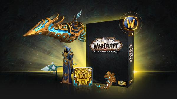 World of Warcraft: Shadowlands Collector's Edition Reittier und Haustier