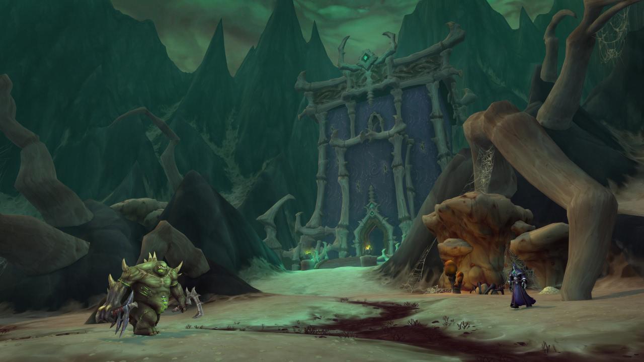 WoW Shadowlands: Level-Questreihe bei den Nekrolords in Maldraxxus