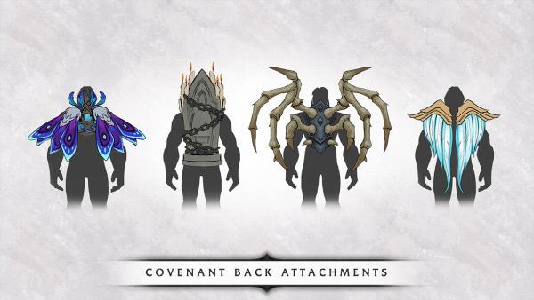 WoW Shadowlands: Pakte belohnen Champions mit besonderen Rückenverzierungen