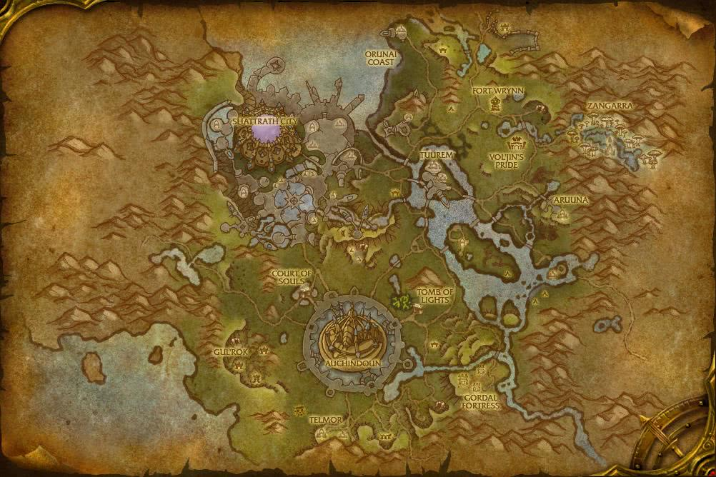 how to get to shattrath legion