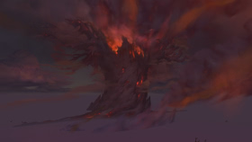 Teldrassil in Battle for Azeroth