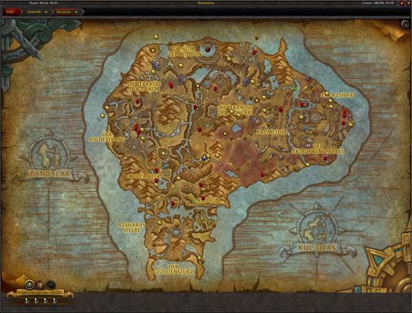 World of Warcraft - Arkhamstern: Positionen und Videos zu allen arkanen Truhen