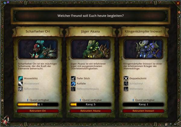 World of Warcraft - Guide für Bodyguards in Nazjatar