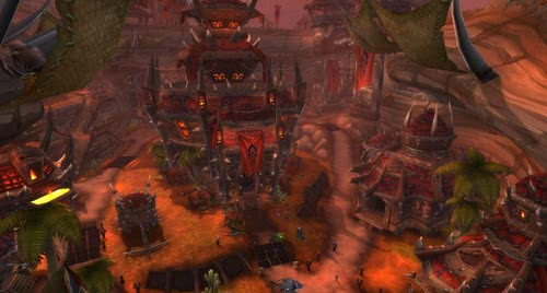 how to get to ashran from orgrimmar