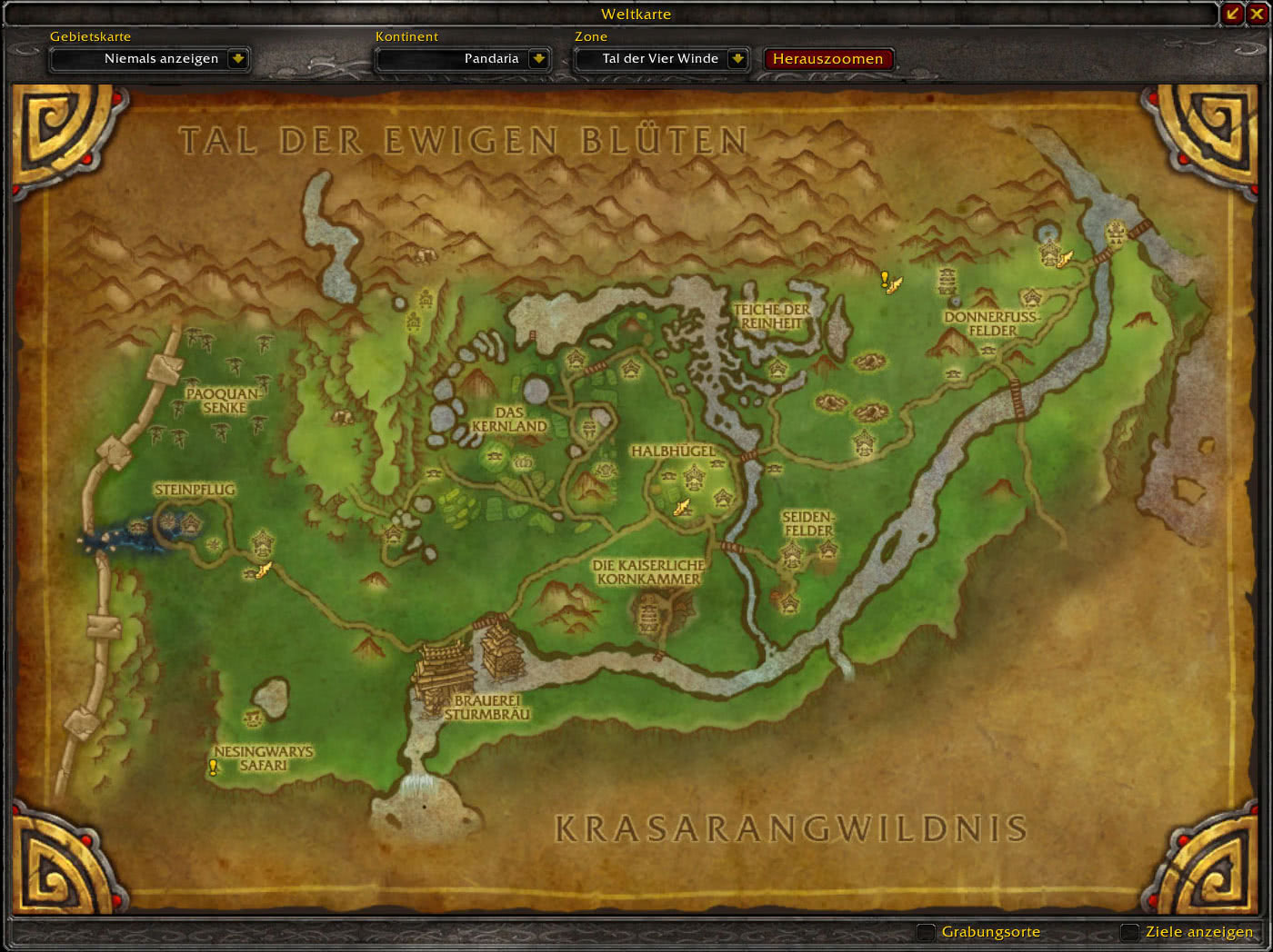 Mists Of Pandaria Dungeon Und Raid Eingange