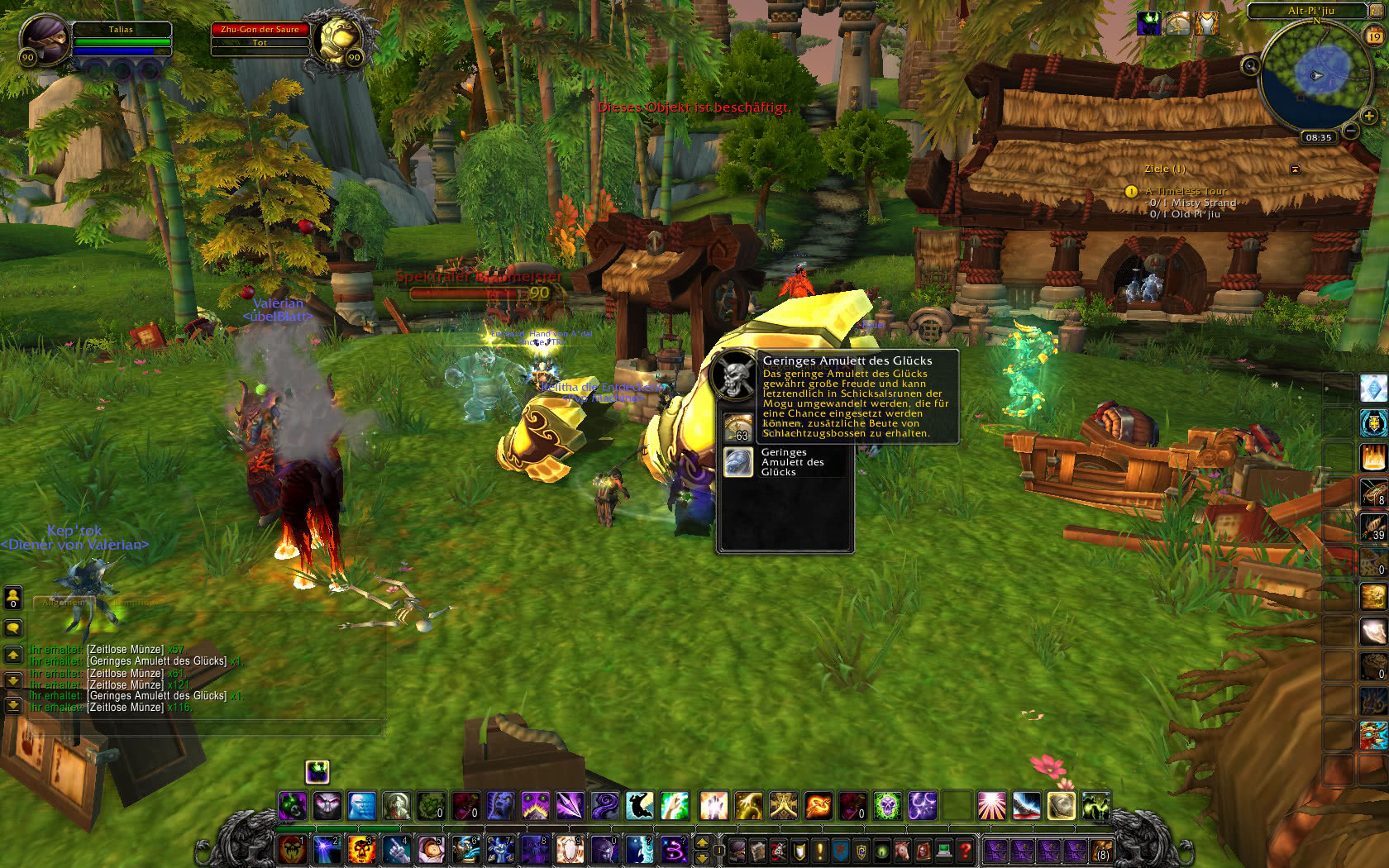 Patch 54 Zeitlose Insel Online