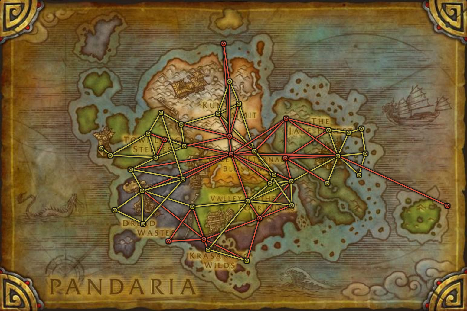 WoW Maps / Karten