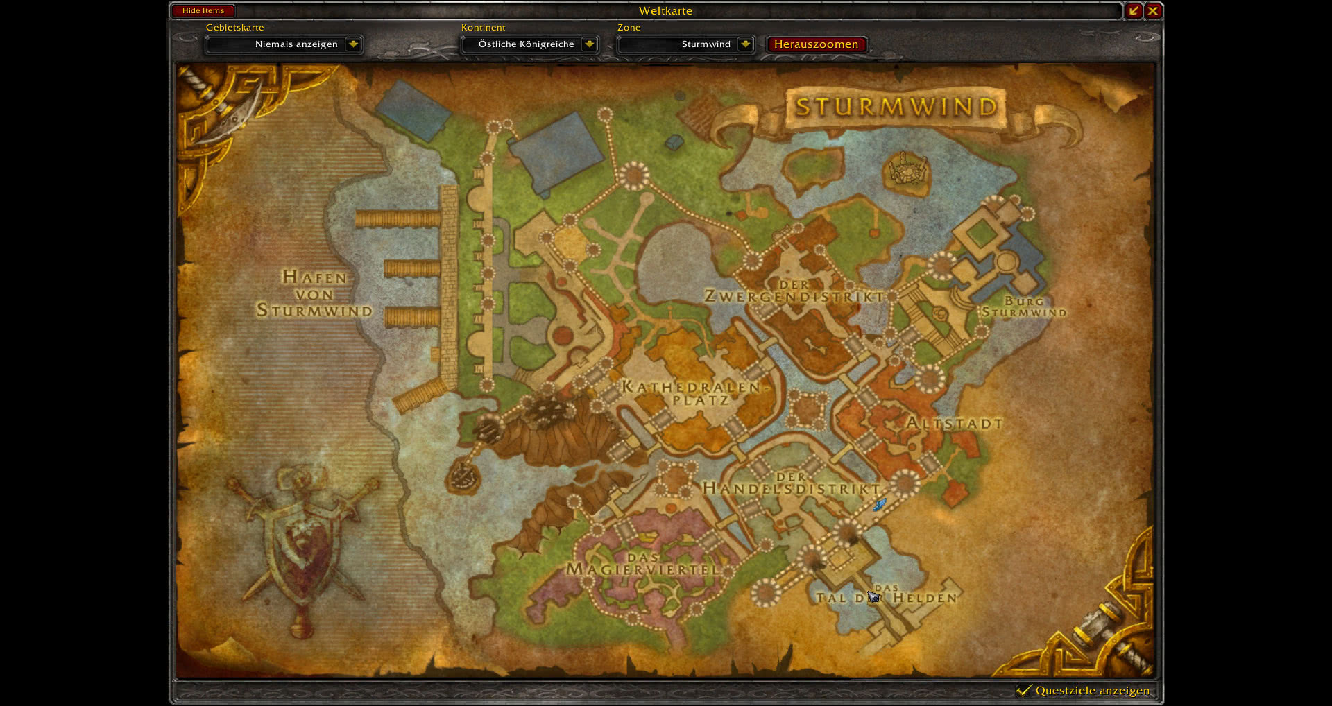how to get to warspear legion