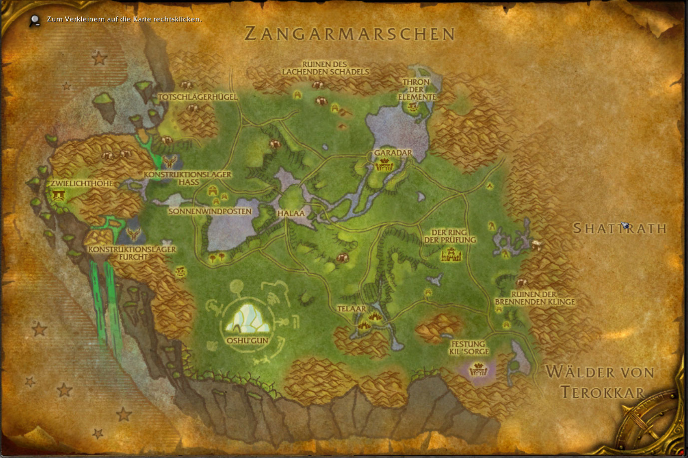 Where Is The Ring Of Blood In Nagrand