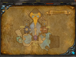 Gundrak Map