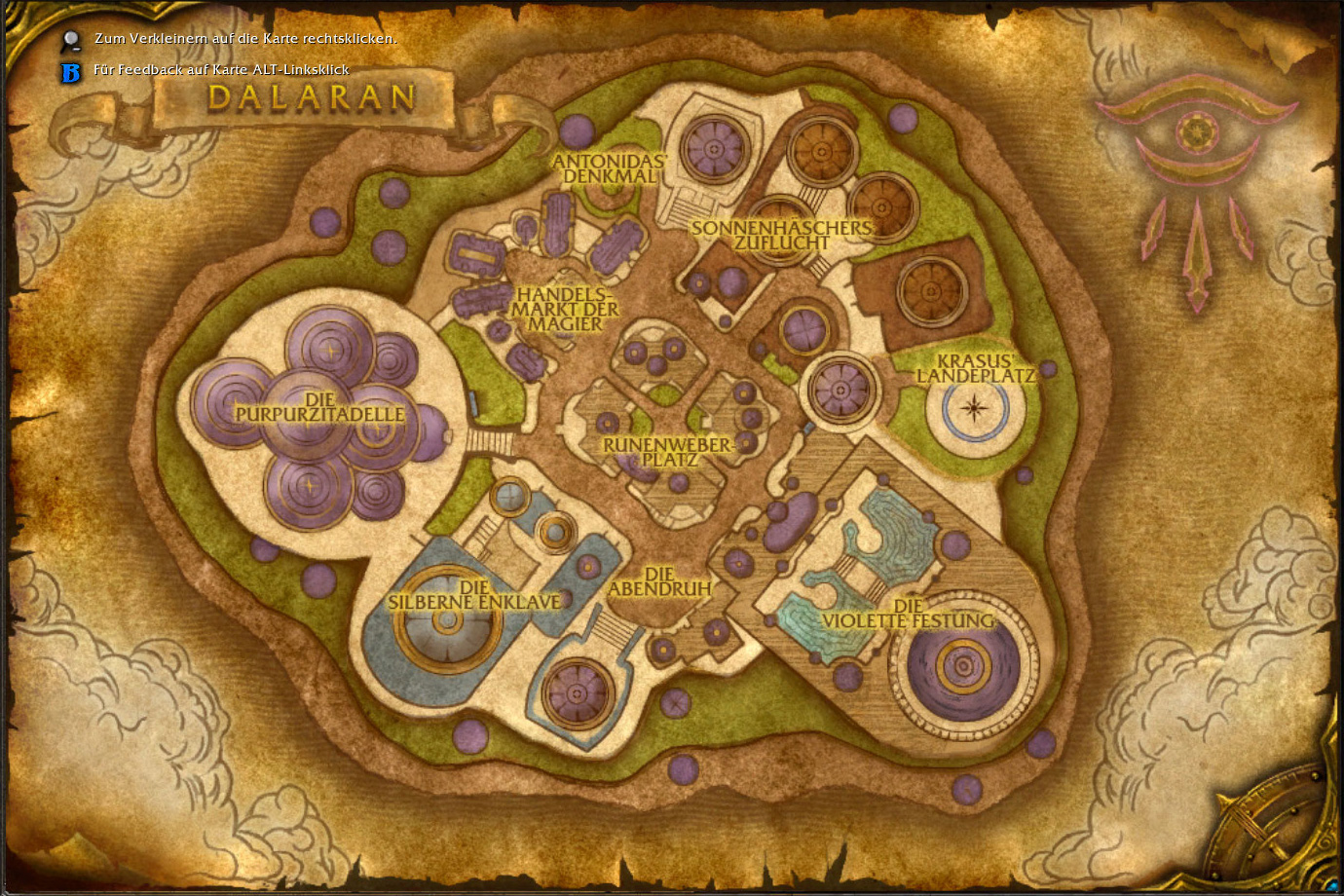 Wow dalaran for Cocina wow legion
